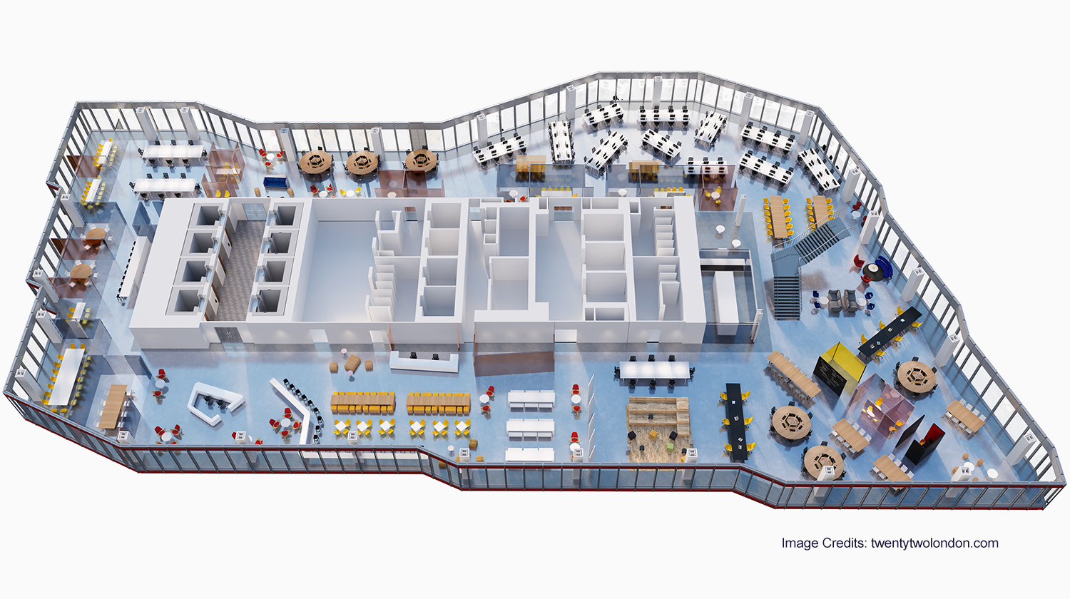 abw workplace 3D plan